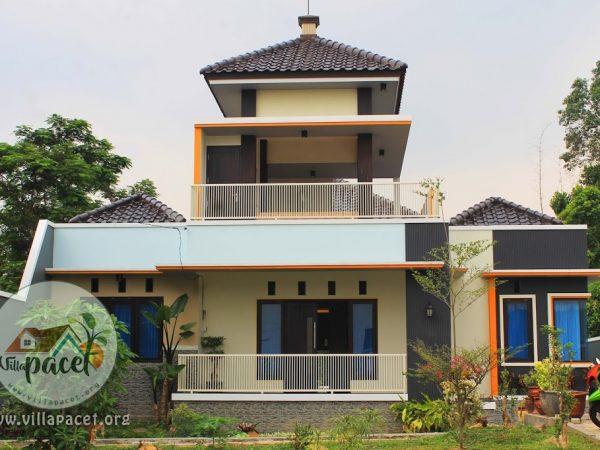 Villa Samawa Pacet Modern Kolam Renang Pribadi