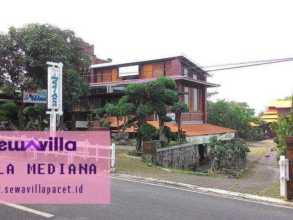Villa Mediana Pacet 18 Kamar Ada Kolam Renang