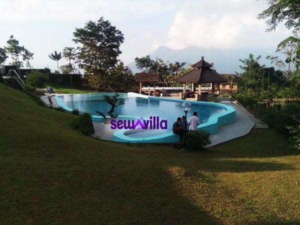 Villa Panorama Di Pacet Ada Kolam Renang View Eksotis Harga Murah