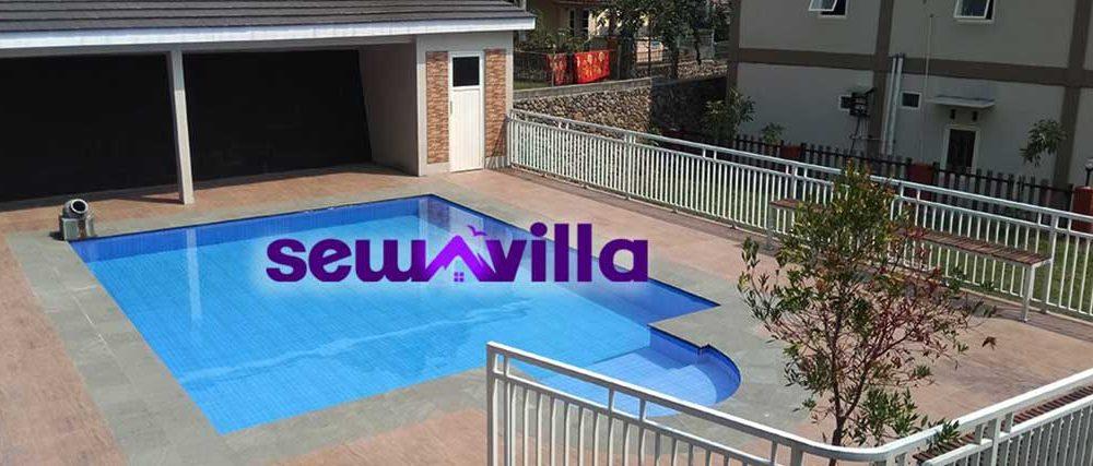 Villa Puncak Pacet Resort Fasilitas Kolam Renang