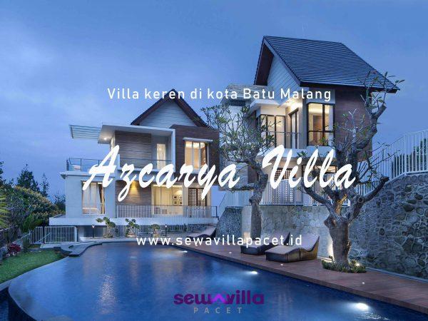 Menikmati Panorama Alam Kota Batu Dari Azcarya Villa