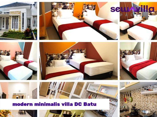 Villa DC Batu Modern Minimalis Cocok Buat Menginap Bersama Keluarga Saat Liburan Di Wisata Disana