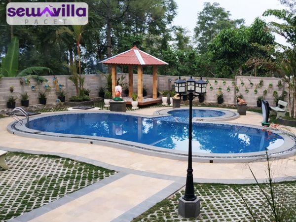 Villa Prawoto Trawas Ada Kolam Renangnya Dengan Pemandangan Yang Indah
