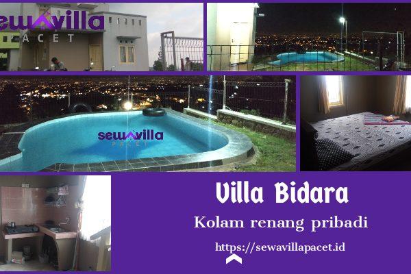 Villa Bidara Pacet Kolam Renang Pribadi View Bagus
