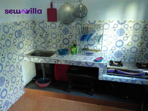 villa nuansa padusan menyediakan fasilitas dapur buat anda yang suka memasak