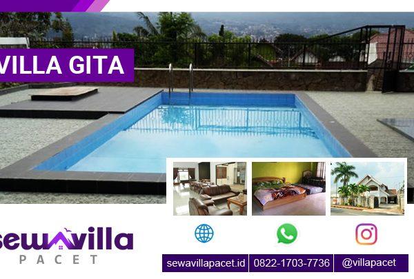 Villa Gita Batu Kolam Renang Pribadi Banyak Pilihan Wisata