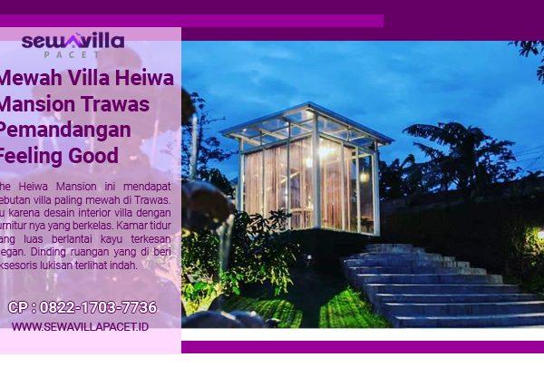 rumah kaca mewah villa heiwa mansion trawas