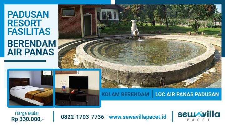 villa padusan resort dilengkapi fasilitas berendam air panas