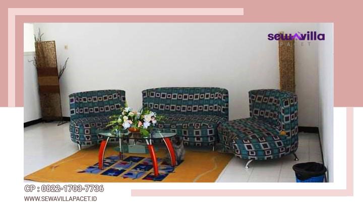 ruang santai di villa lahor
