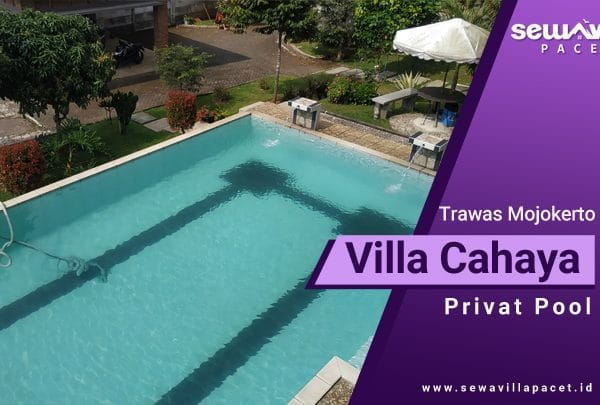 Villa Cahaya Trawas lengkap dengan kolam renang pribadi
