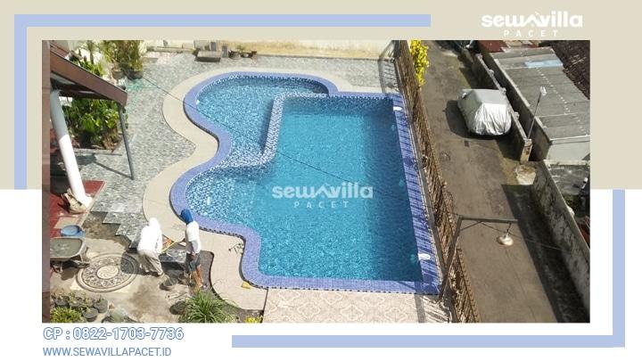 kolam renang villa tiyasa batu untuk anak dan dewasa