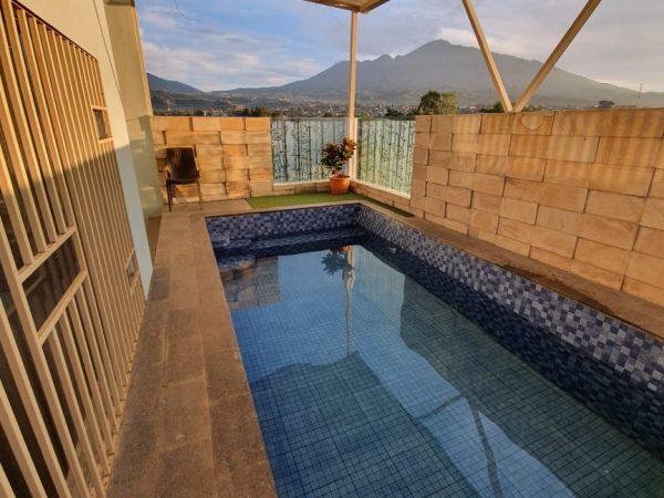 Villa B24 Batu Kolam Renang Pribadi Mewah Modern Minimalis