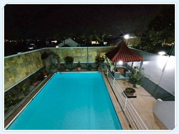 villa bj14 batu kolam renang luas pemandangan kota