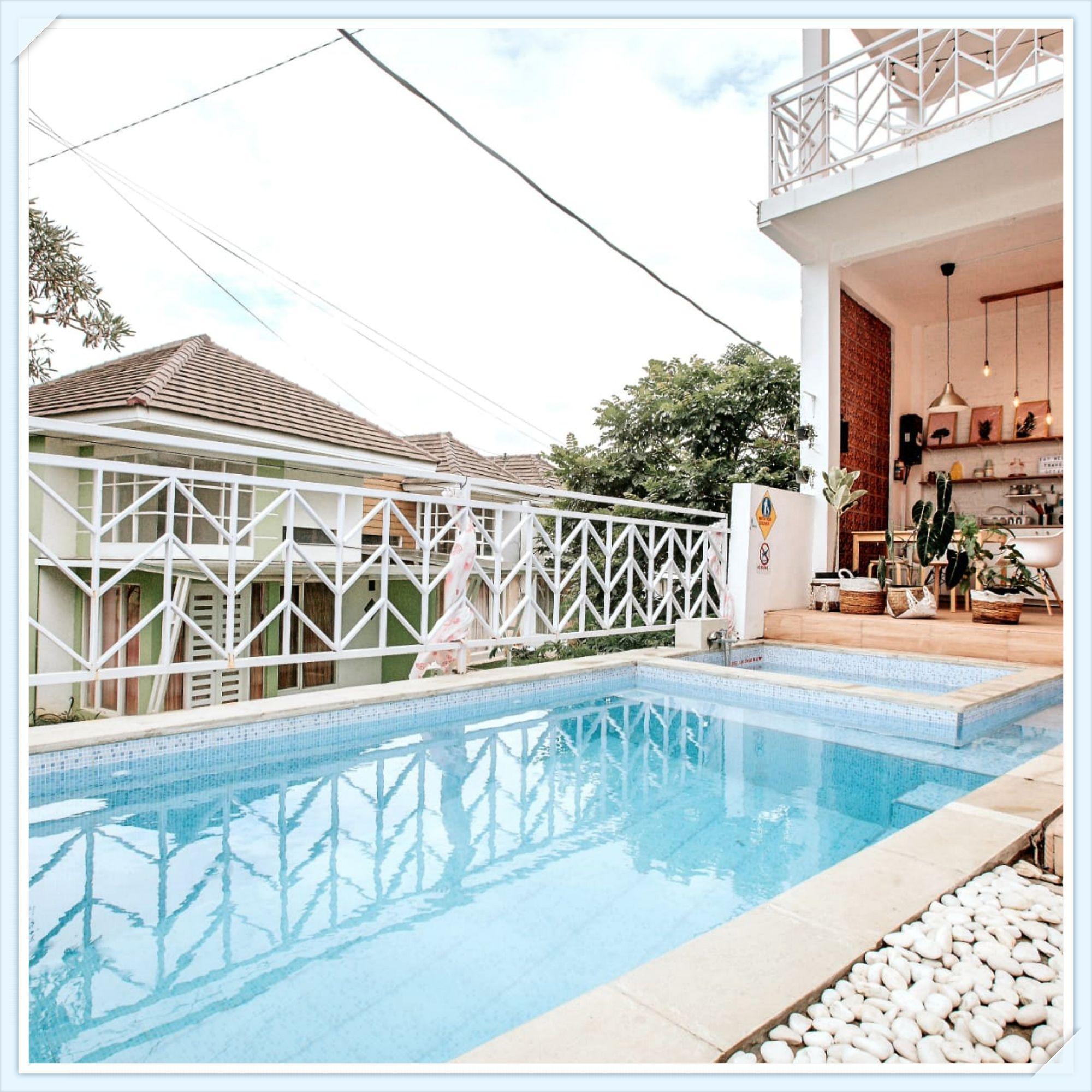 villa mewah harga murah casa skyrose batu dilengkapi kolam renang pribadi