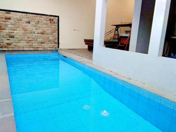 kolam renang pribadi villa bsf batu ini diminati banyak pengunjung
