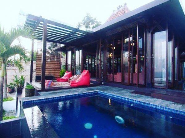 villa alcheringa murah ada kolam renangnya di jogja harganya murah bikin betah