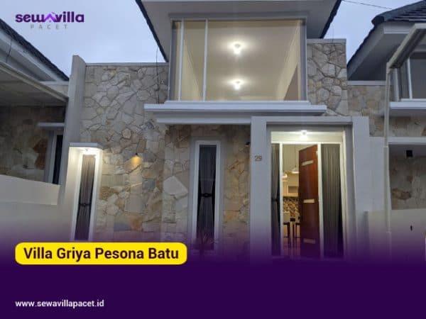 villa griya pesona batu 2 kamar tidur modern minimalis