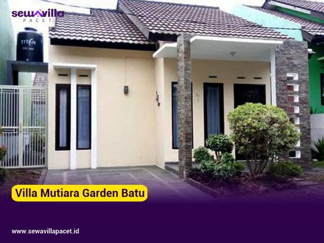 villa mutiara garden batu 2 kamar tidur staycation terbaru