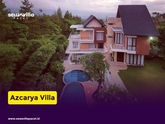 villa keluarga batu azcarya modern
