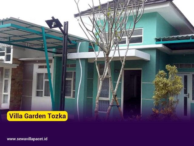 villa garden tozka batu 2 kamar tidur cocok untuk keluarga kecil