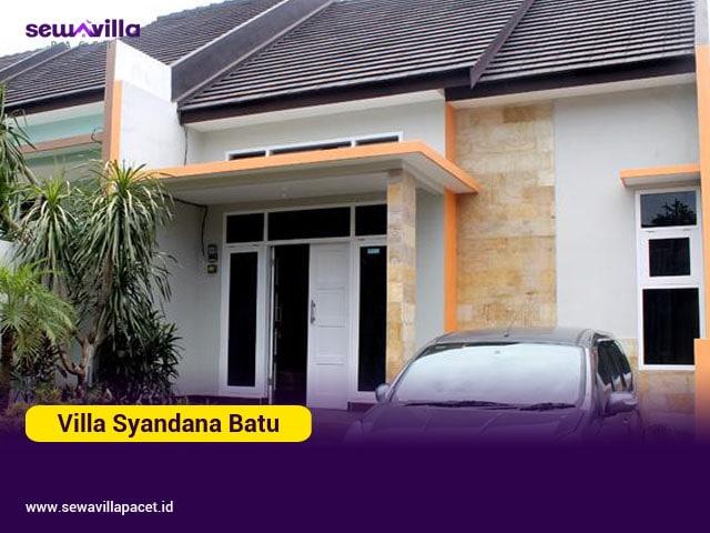 villa syandana batu malang 2 kamar tidur modern minimalis