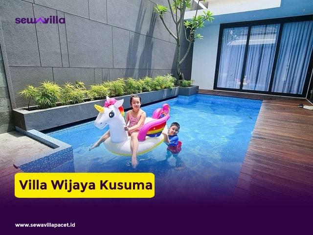 villa keluarga batu wijaya kusuma dekat wisata