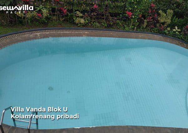 villa vanda blok u kolam renang pribadi