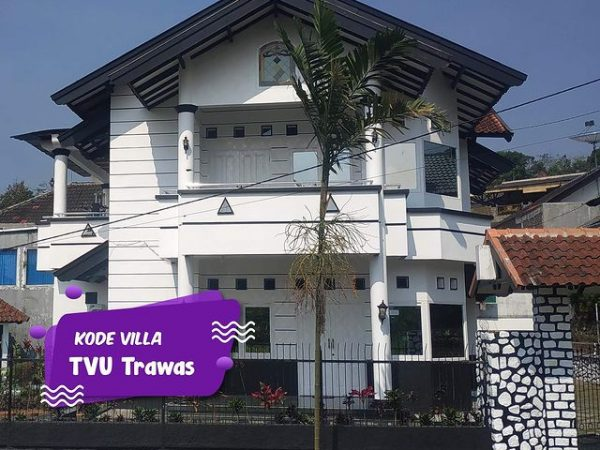 Villa Private Pool Trawas Kode TVU Cocok untuk Liburan Bersama Keluarga