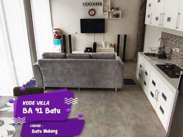 desain modern ruang tengah dan dapur bikin nyaman