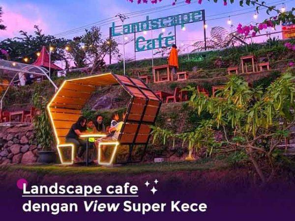 Landscape Cafe Pacet Tempat Nongkrong Terbaru Viral di Mojokerto